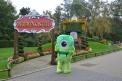 Château De Fleurs (Bloemenkasteel) Inflatable Mascot