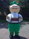 German Man Inflatable Mascot