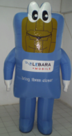 Lebrara Inflatable Mascot