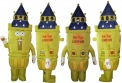London Tower - bye bye London Inflatable Mascot