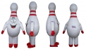 Bowl Expo - Bowling Pin Inflatable Mascot