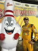 Go Bowling - Bowling Pin Inflatable Mascot