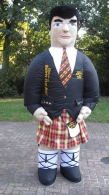 Ripleys Scotsman Inflatable Mascot