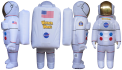 Spaceman Wonderworks Inflatable Mascot Design
