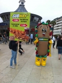 Subway Inflatable Mascot